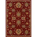 Red Wool-blend Area Rug (7'10 x 10'10)
