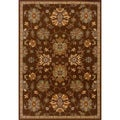 Brown Wool-blend Area Rug (3'10 x 5'5)