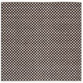 Safavieh Hand-loomed Moroccan Brown Cotton Rug (4' Square)