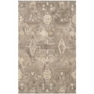 Safavieh Handmade Wyndham Natural New Zealand Wool Geometric Rug (5' x 8')