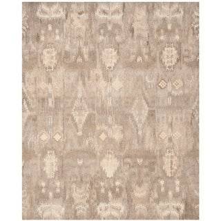 Safavieh Handmade Wyndham Natural New Zealand Wool Rug (8' x 10')