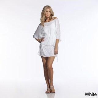 Elan Women's Flowy Flare Sleeve Tunic