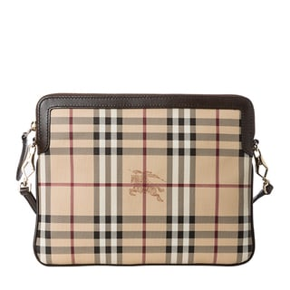 Burberry 'Lengham' Haymarket Tablet or iPad Crossbody Case