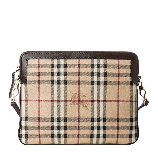Burberry 'Lengham' Haymarket Tablet or iPad Crossbody Case