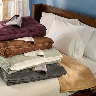 German Reversible Cotton Plush Blanket