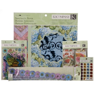 Tim Coffey Cottage Garden Specialty Paper Pad Kit
