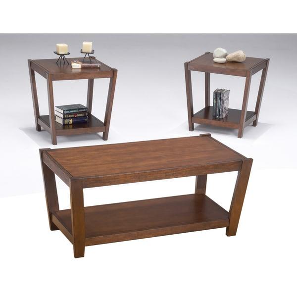 Sabre Wood 3-Piece Table Set