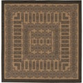 Recife Tamworth Cocoa and Black Rug (8'6 Square)