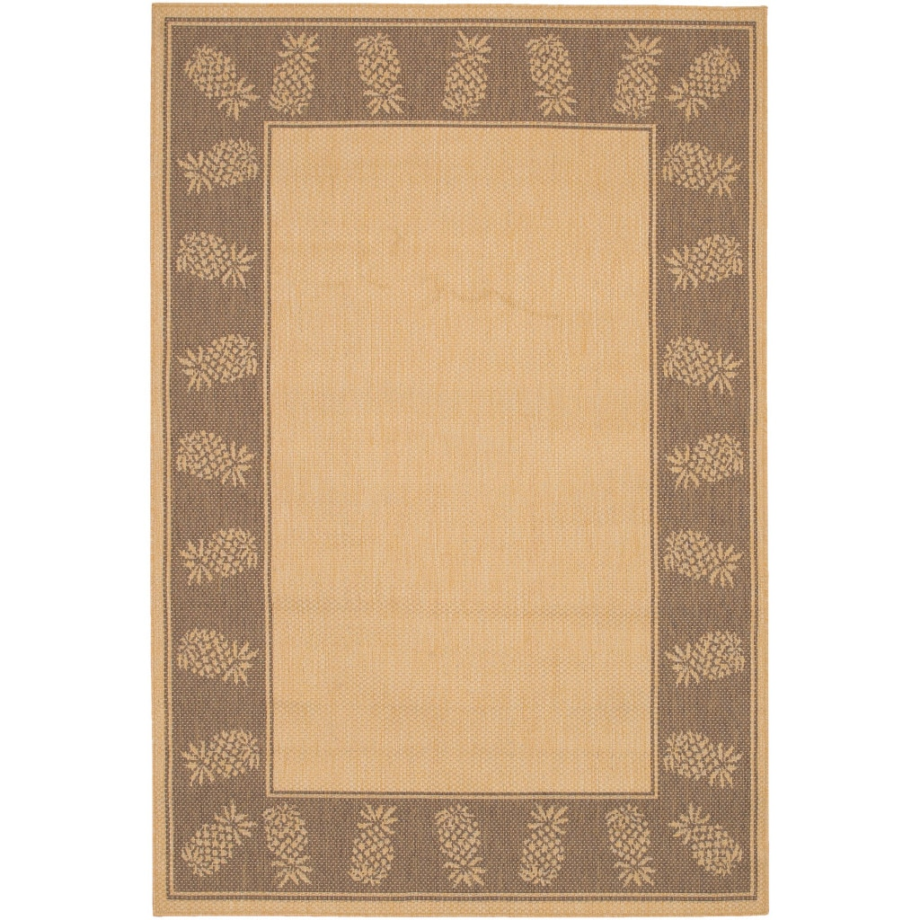 COURISTAN INC Recife Tropics Natural Cocoa Rug (5'3 x 7'6) at Sears.com