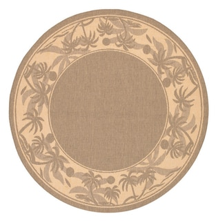 Recife Island Retreat Beige Natural Rug (7'6 Round)