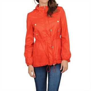 Hawke & Co Women's Orange Packable Anorak