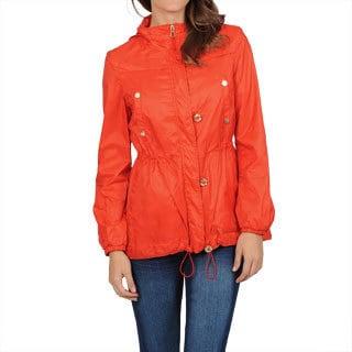 Hawke & Co Women's Orange Packable Anorak