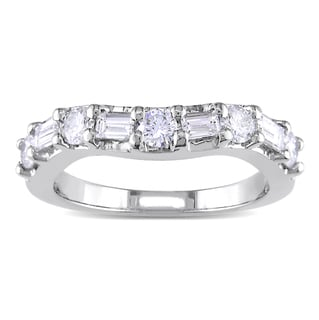 Miadora Platinum 7/8ct TDW Diamond Ring (G-H, SI1-SI2)