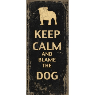 Jo Moulton 'Blame the Dog' Paper Print (Unframed)