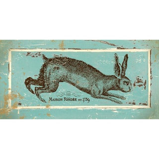Jo Moulton 'French Hare II' Paper Print (Unframed)