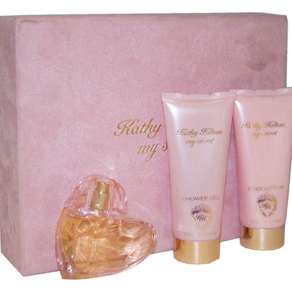 Kathy Hilton My Secret Women's 3-piece Gift Set