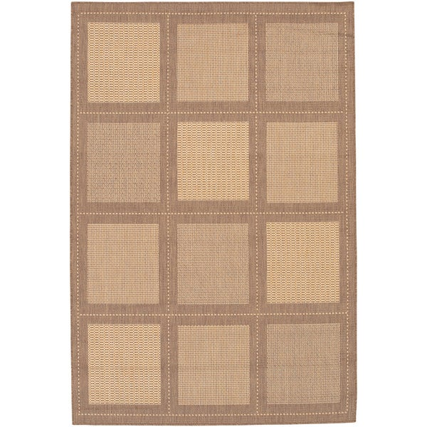 Recife Summit Natural and Cocoa Area Rug (5'10 x 9'2)