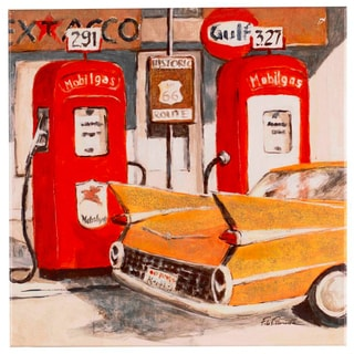 Fabrice de Villeneuve 'Rules of the Road' Limited Edtion Giclee Canvas Art
