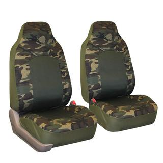 FH Group Camouflage Airbag-compatible Front Bucket Seat Covers (Set of 2)