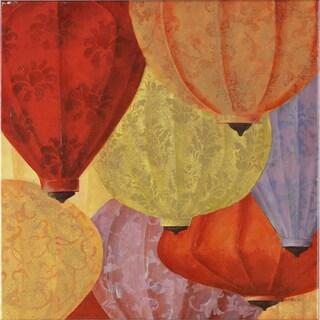 Fabrice de Villeneuve 'Riches of the Orient' Limited Edtion Giclee Canvas Art