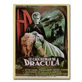 'The Horror of Dracula' Canvas Art