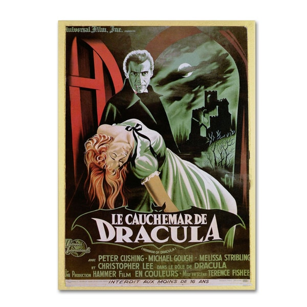 'The Horror of Dracula' Canvas Art