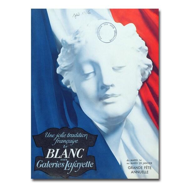 'Galeries Lafayette 1936' Canvas Art