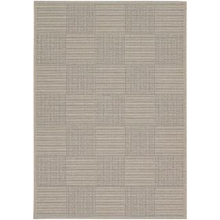 Tides Concord Sand/ Grey Rug (3'11 x 5'7)