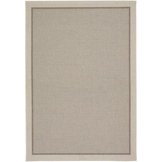 Tides Freeport Beige and Cocoa Rug (2' x 3'7)