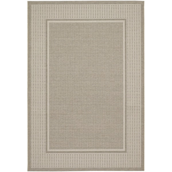 Tides Astoria Beige and Fern Rug (5'3 x 7'6)