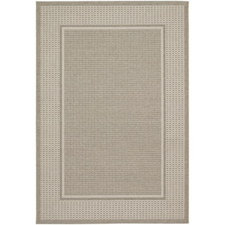 Tides Astoria Beige and Fern Rug (6'7 x 9'6)