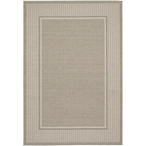Tides Astoria Beige and Fern Rug (7'10 x 10'10)