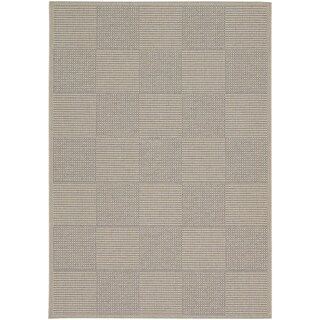"Tides Concord/ Sand Grey Rug (6'7"" x 9'6)"