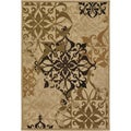 Courtisan Urbane &#39;Gatesby&#39; Sand/ Ivory Rug (5&#39;2 x 7&#39;6)