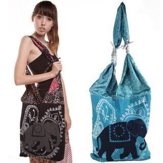 Marching Elephant Market Bag (Nepal)