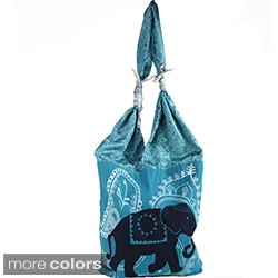 Marching Elephant Market Bag (Nepal)