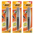 BIC 4-Color Soft Grip Retractable Medium Ballpoint Pen (Pack of 3)