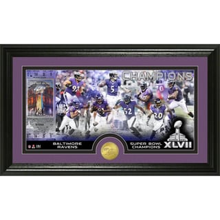 Highland Mint Baltimore Ravens Super Bowl XLVII Champions Photo Coin Mint