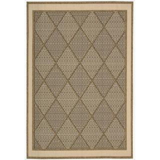 Eclipse Glamarous Diamond Brown Rug (7'10 x 10'10)