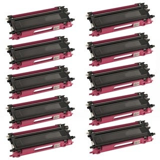 Brother Compatible TN115 High Yield Magenta Toner Cartridges (Pack of 10)