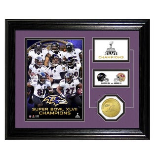 Baltimore Ravens Super Bowl XLVII Champions Desktop Pride Photo Mint