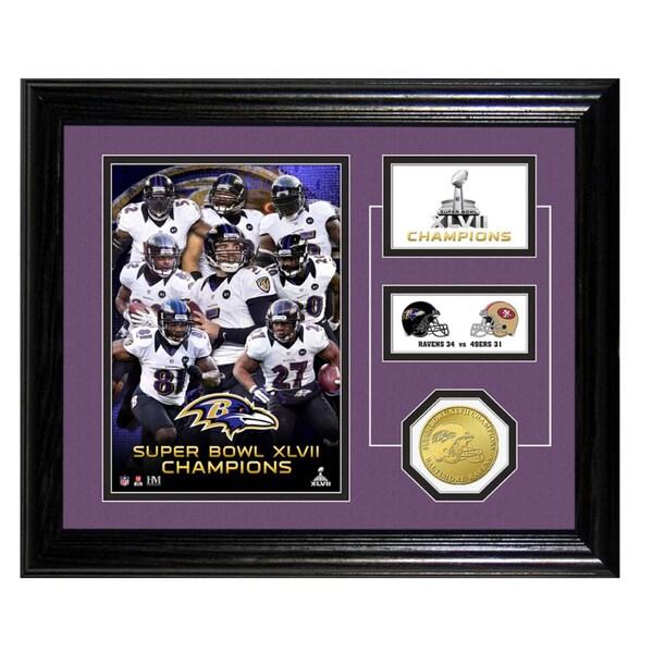 Baltimore Ravens Super Bowl XLVII Champions Desktop Pride Photo Mint