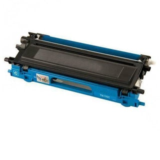 Brother Compatible TN210 High Yield Cyan Toner Cartridges (Pack of 2)