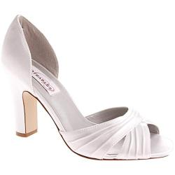 Women's Dyeables Angie White Satin