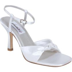 Women's Dyeables Loveknot White Satin