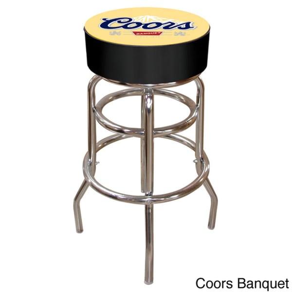 Coors Padded Bar Stool