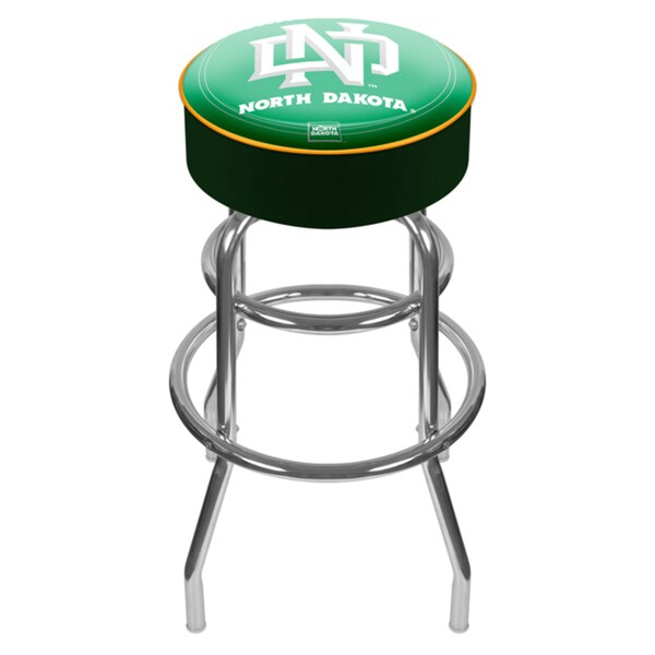 Officially Licensed Collegiate Logos Padded Bar Stool