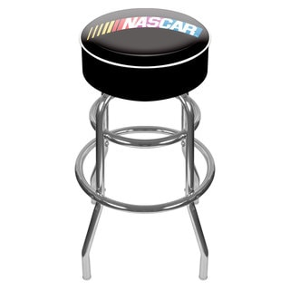 Trademark NASCAR Logo Padded Swivel Bar Stool