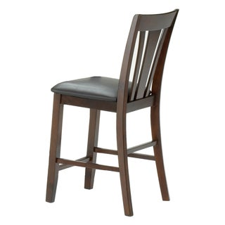 Alexis Cherry Padded Back 29 Inch Barstool 13344949