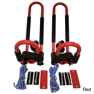 Pack'Em Universal Vehicle-top J-Hook Kayak Carrier Racks (Set of 2)